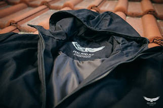 Анорак - F&F зимний, черный(black), фото 3