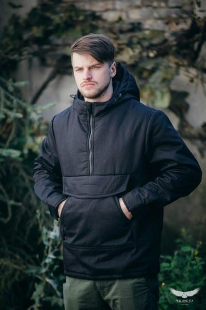Анорак - F&F зимний, черный(black)