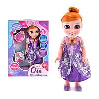 Говорящая интерактивная кукла Оля для девочек: отвечает на вопросы, поет песни, рассказывает сказки