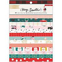 Набір одностороннього паперу - Hey, Santa - Crate Paper - 20х15