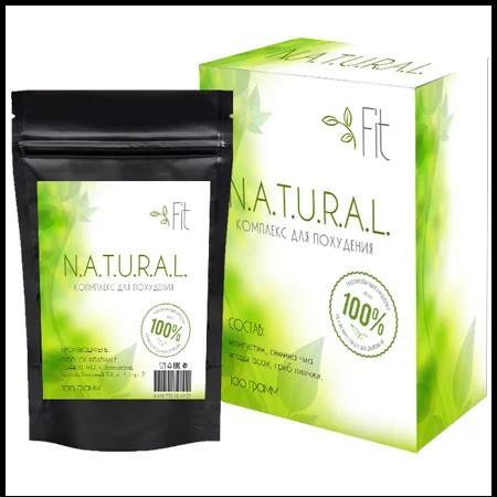 NATURAL Fit комплекс для схуднення (порошок-блокатор калорій)
