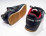 Кросівки чоловічі 42 Reebok т. сірі з жовтим, фото 2