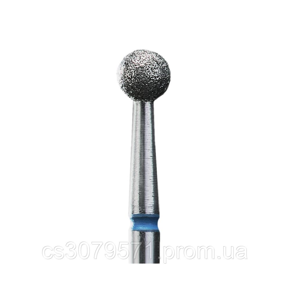 Фреза алмазная шар синяя диаметр 4 мм (комплект 6 шт.)