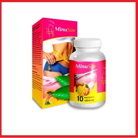 Шипучі таблетки для схуднення MinuSize (Минусайз) 10 шт