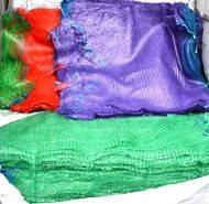 Мешок для овощей и фруктов  (сетчатый мешок, cетка овощная) 45х75 фиолетовый и зеленый