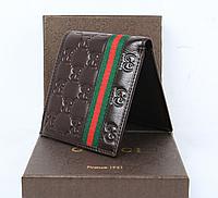 Мужское портмоне Gucci (138042) brown