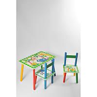 Стол + 2стула Z-004 Джунгли