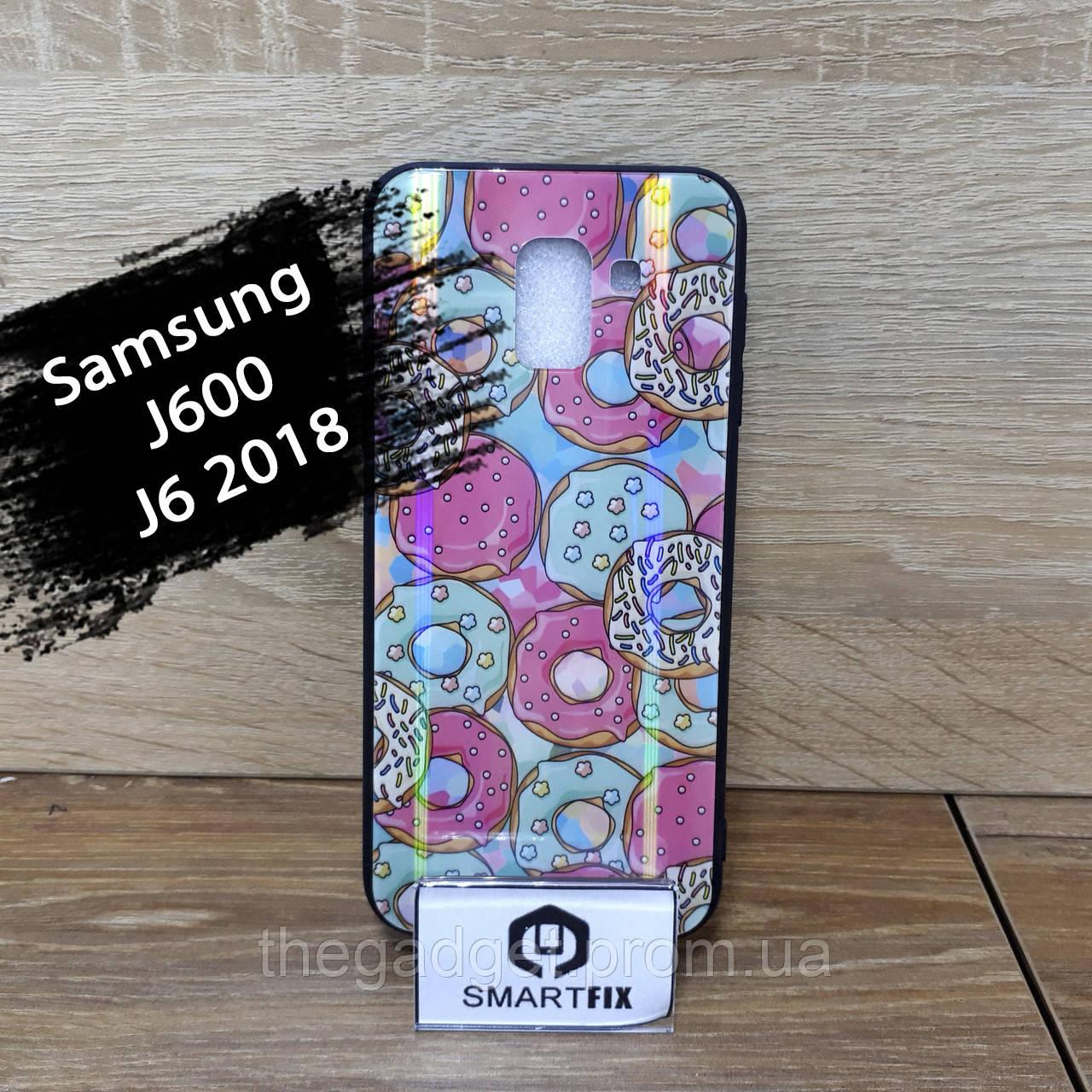 Чехол с рисунком для Samsung J6 2018 / J600
