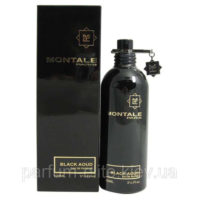 Чоловіча парфумована вода Montale Black Aoud 100ml(test)
