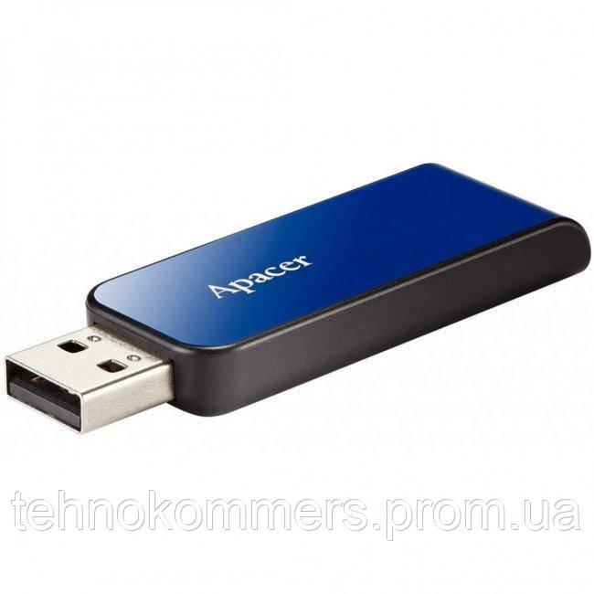 USB 2.0 Apacer AH334 32Gb blue
