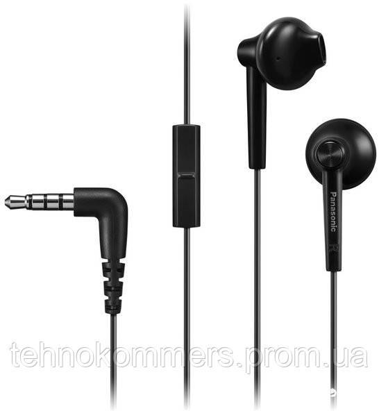 Навушники Panasonic RP-TCM55GC-K 3.5 мм (mini-Jack) Black, фото 2