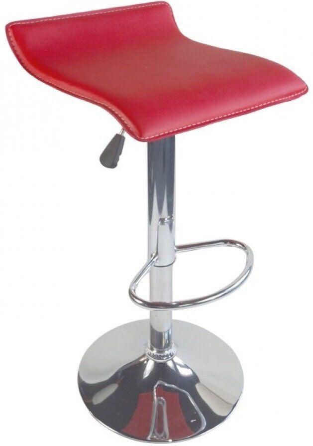 Барный стул хокер с низкой спинкой Bonro B-688 красный
