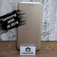 Чохол книжка для Samsung J6 2018 (J600) G-Case Золотий, фото 1