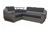 """Угловой диван """"Бенвинито"""" Gray (угол взаимозаменяемый), фото 1"""
