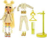 Кукла желтая Рейнбоу Хай Санни Медисон Rainbow High Sunny Madison Yellow Fashion Doll with 2 Outfits MGA
