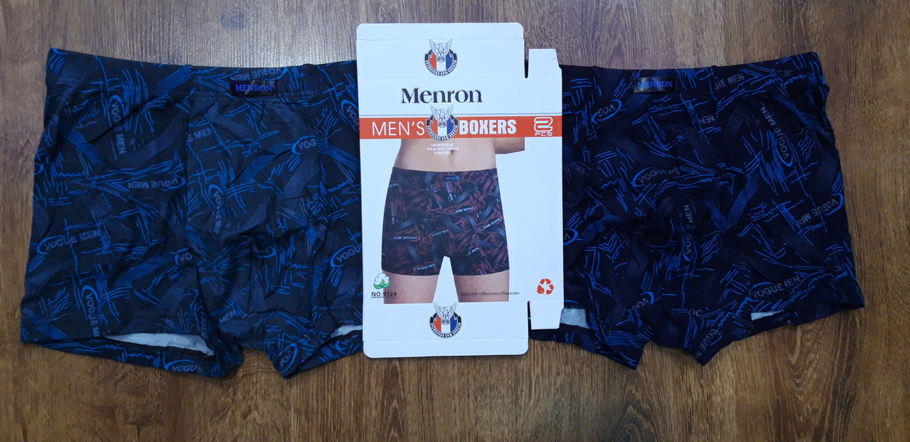 "Трусы мужские, боксеры ""Menron"" (XL-4XL)"