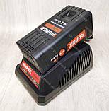 Аккумуляторная цепная пила Rupez RCS-40Li электропила, фото 4