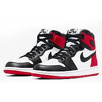 Кроссовки женские Джордан Ретро 1 ( Air Jordan Retro 1 Black Toe )