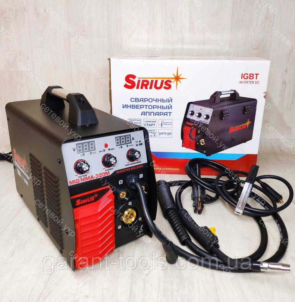 Зварювальний інверторний напівавтомат Sirius 320 A