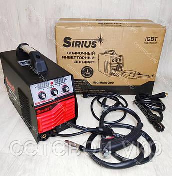 Сварочный инверторный полуавтомат Sirius 290A, фото 2