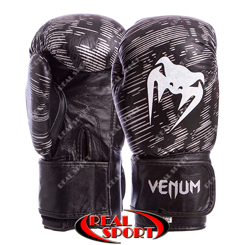 Перчатки боксерские кожаные Venum MA-5430