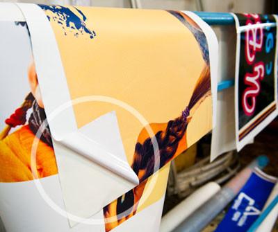 Печать на самоклейке в Днепропетровске по низкой цене