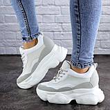 Женские стильные кроссовки на танкетке Fashion Pelusa 2066 37 размер 23,5 см Белый Размер 37 - 23,5 см, фото 6
