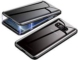 Magnetic case Full Glass 360 (магнитный чехол) ANTI SPY Анти-шпион для Samsung Galaxy S8