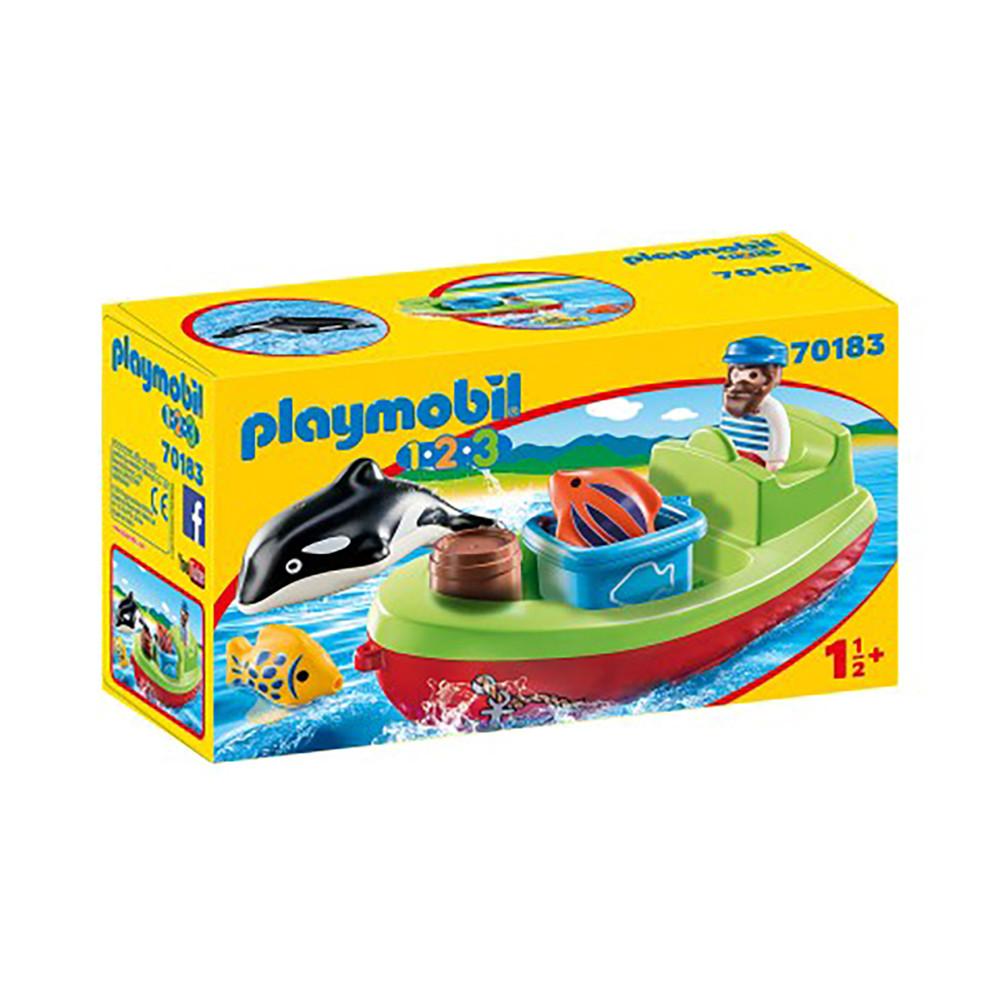 """Игровой набор """"Рыбак с лодкой"""" Playmobil (4008789701831)"""