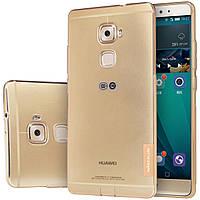 TPU чехол Nillkin для Huawei MATE S коричневый