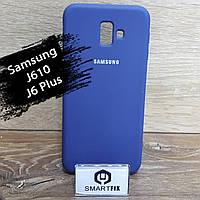 Силиконовый чехол для Samsung J6 Plus / J610, фото 1
