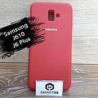 Силіконовий чохол для Samsung J6 Plus / J610, фото 1