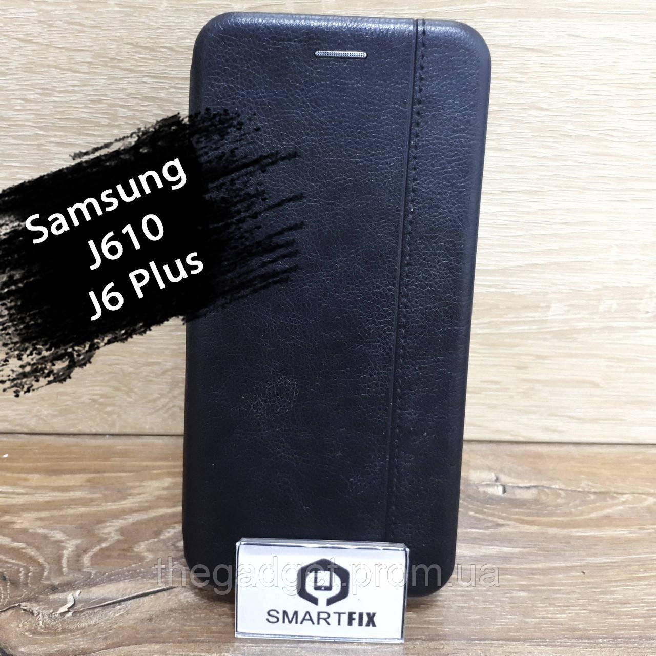 Чехол книжка для Samsung J6 Plus / J610 Gelius