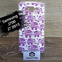 Чехол с рисунком для Samsung J7 2015  (J700), фото 1