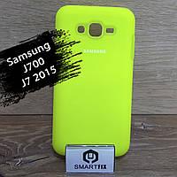 Силіконовий чохол для Samsung J7 2015 (J700)