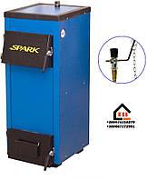 Spark-Heat - 18 (Спарк-Хит) котел на твердом топливе с механическим регулятором тяги