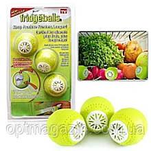 Шарики в холодильник 3 шт для удаления запаха Fridge Balls