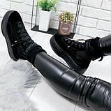 Черные ботинки из натуральной замши с терм носком внутри, фото 5