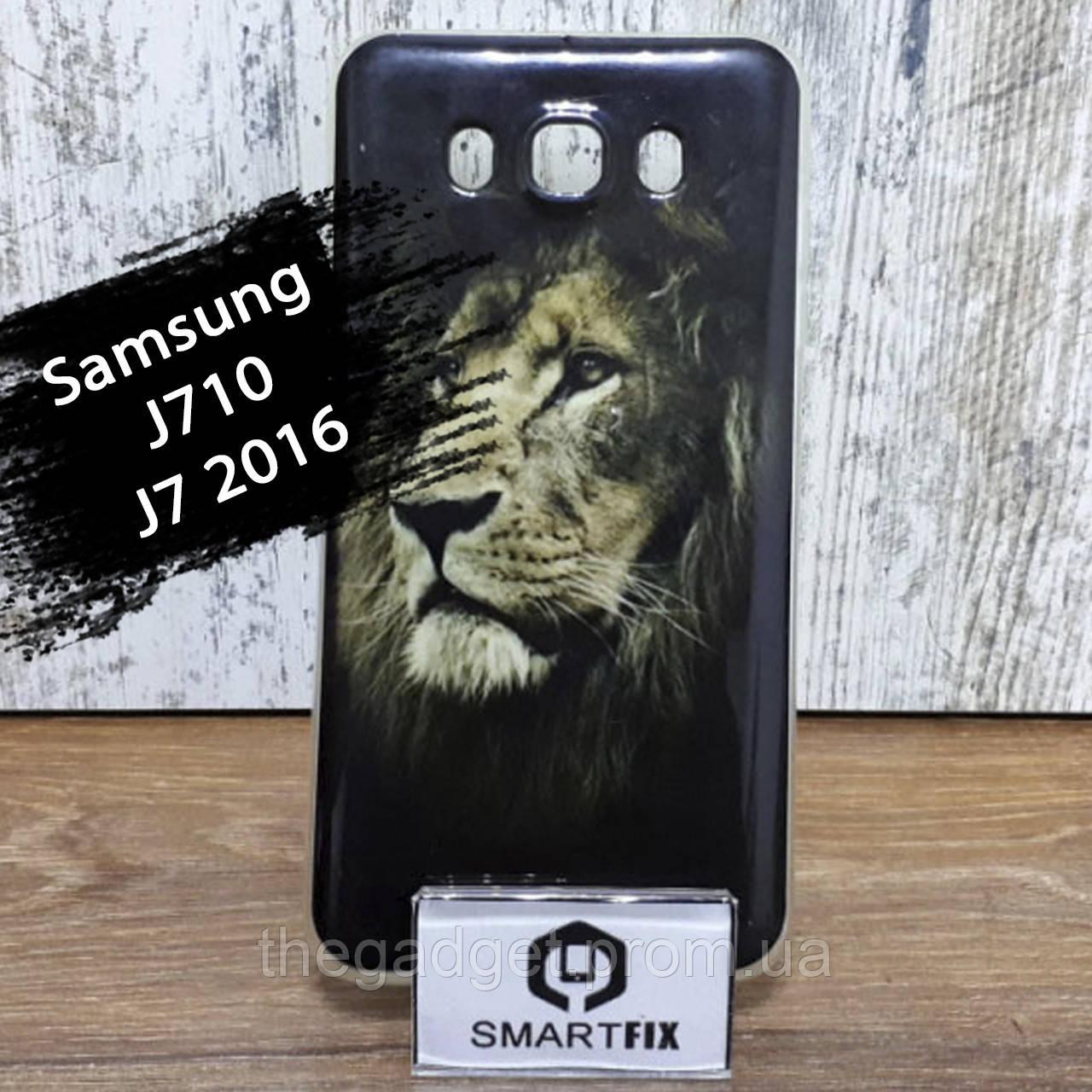 Чехол с рисунком для Samsung J7 2016 (J710) дизайн №3