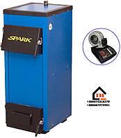 Твердотопливный котел с блоком управления Spark-Heat 18 кВт