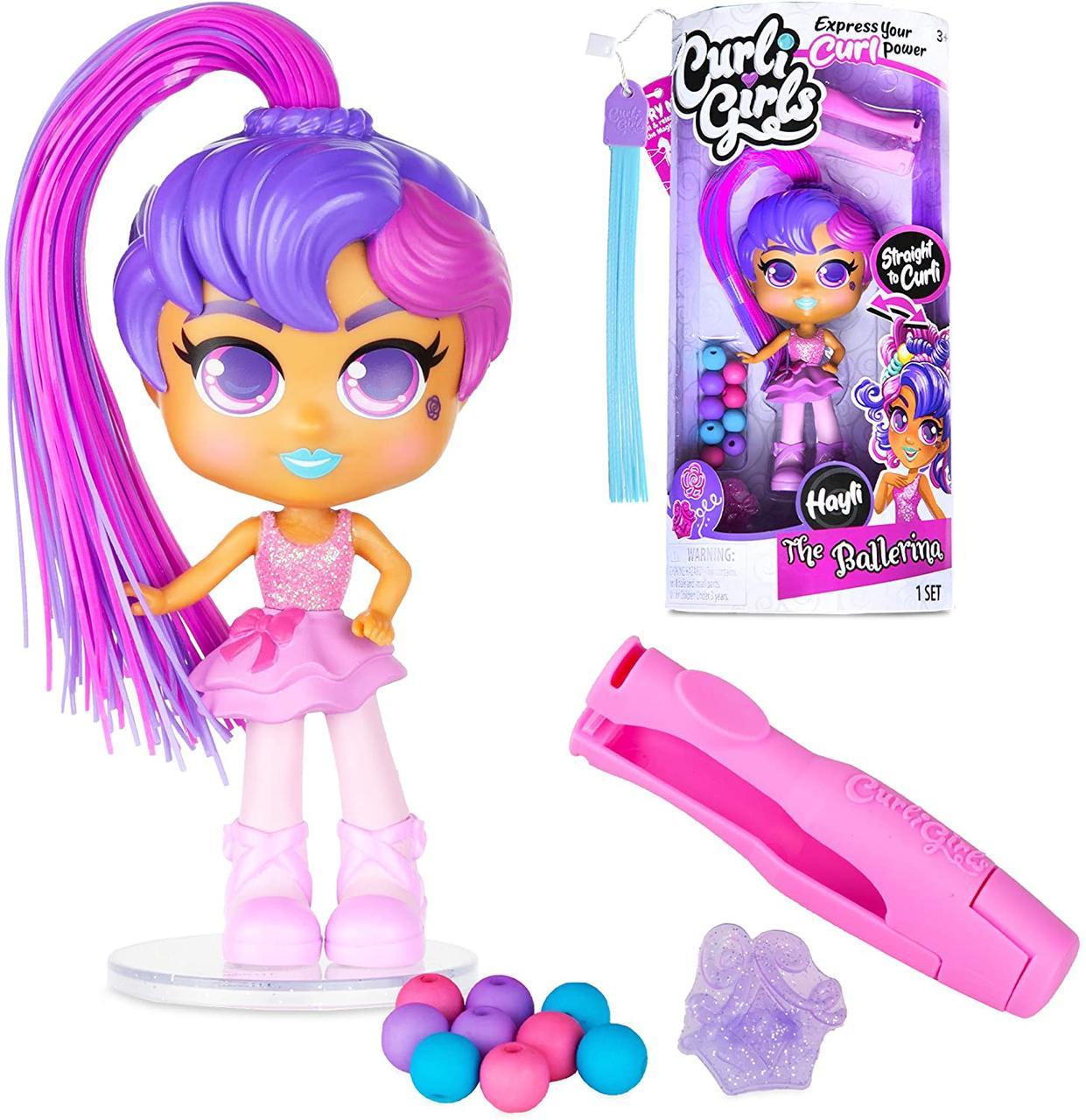 Кукла Curligirls - Балерина Хэйли Silverlit Toys CurliGirls Hayli Ballerina - Hairstyling Doll