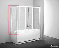 Шторка для ванны Ravak APSV-80 белый+Grape (95040102ZG)