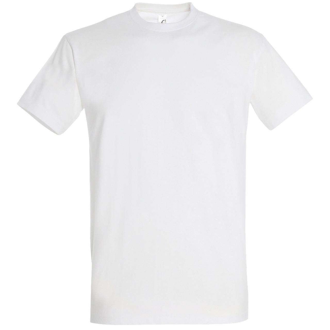Футболка мужская (белая)