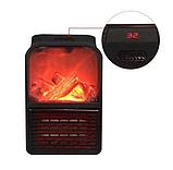 Обогреватель портативный Flame Heater с LCD-дисплеем и пультом 500 Вт Флейм Хетер, фото 3