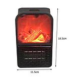 Обогреватель портативный Flame Heater с LCD-дисплеем и пультом 500 Вт Флейм Хетер, фото 4