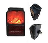 Обогреватель портативный Flame Heater с LCD-дисплеем и пультом 500 Вт Флейм Хетер, фото 5
