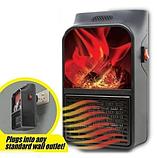 Обогреватель портативный Flame Heater с LCD-дисплеем и пультом 500 Вт Флейм Хетер, фото 6