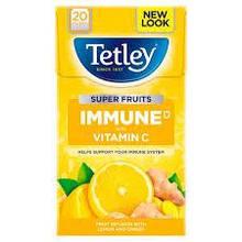 Tetley Super Fruits Immune Lemon & Ginger