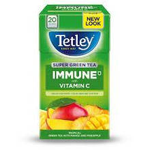 Tetley Super Green Tea Immune Pineapple & Mango