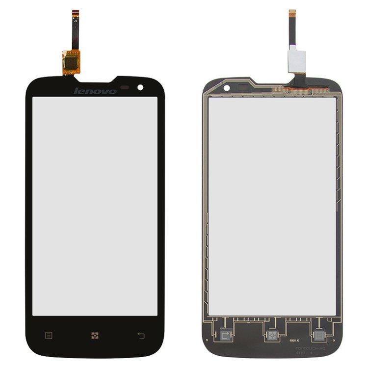 Сенсорный экран (тачскрин) Lenovo A830 чёрный